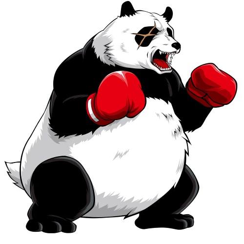 アメリカン番長HEY鏡 パンダ